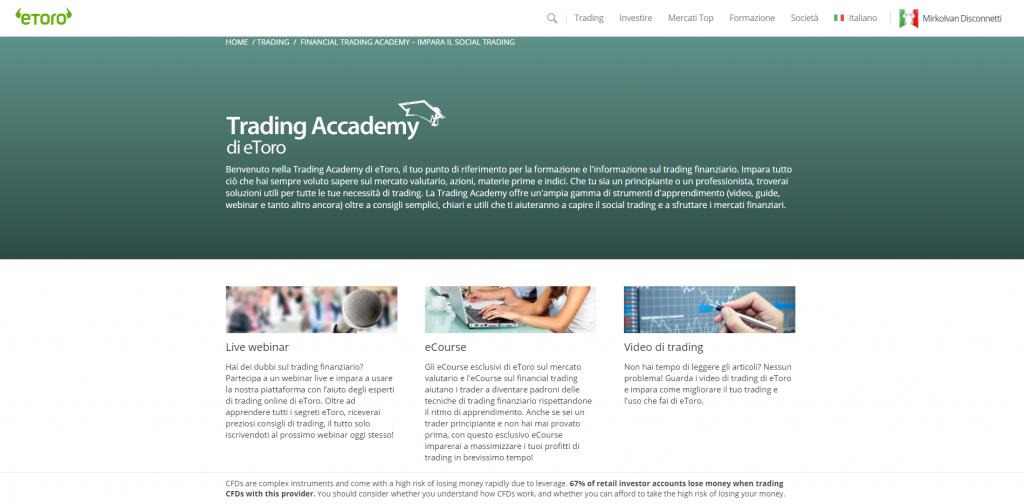 imparare analisi tecnica mercati finanziari
